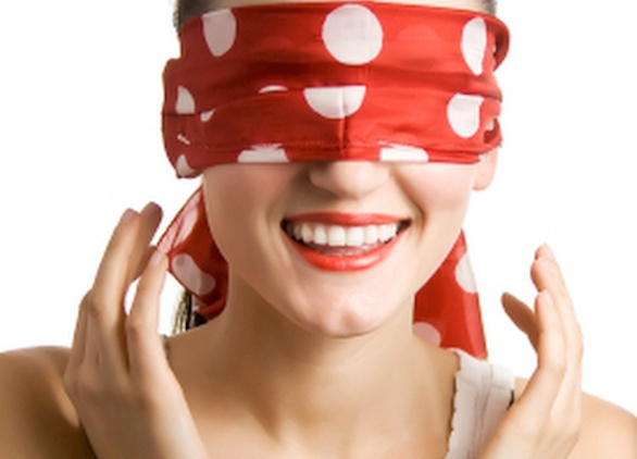 We're At the Point of No Return Blindfolded-yoga