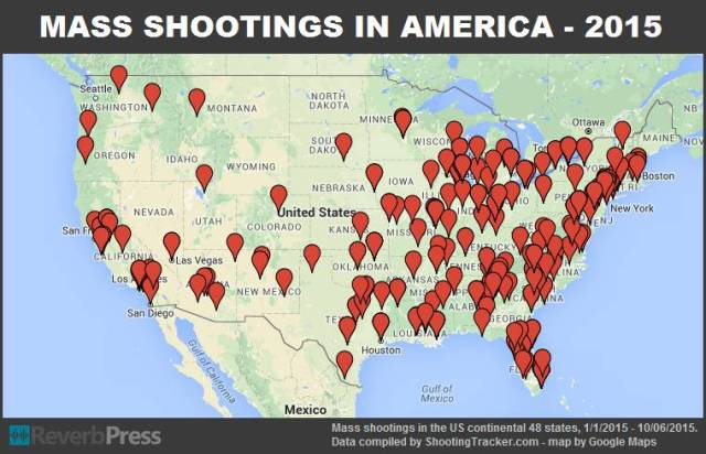 We're At the Point of No Return Mass-shootings-48-states-215-through-10-06-2015-1