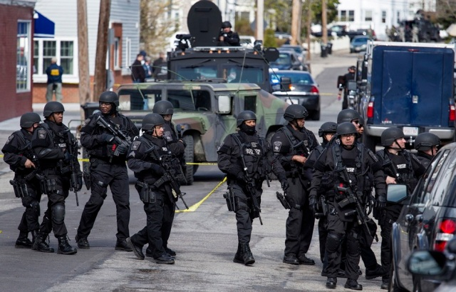We're At the Point of No Return Police-state