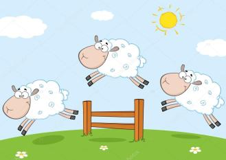 Making A Difference in a Troubled World Depositphotos_61081029-stock-illustration-funny-sheep-jumping-over-a